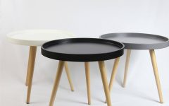 Round Tray Coffee Tables