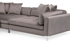 Nico Grey Sectionals with Left Facing Storage Chaise