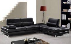 Black Modern Sectional Sofas