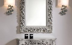 Mirrors Console Table
