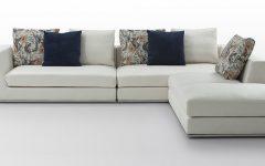 White Fabric Sofas