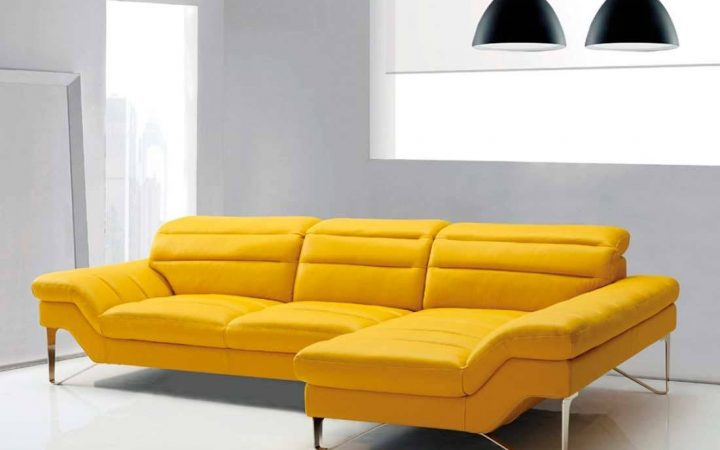 Yellow Sectional Sofas