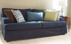 Blue Sofa Slipcovers