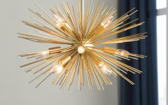 Nelly 12-light Sputnik Chandeliers