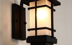 Japanese Outdoor Wall Lighting