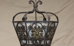 Wrought Iron Kitchen Lights Fixtures