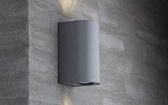 Grey Outdoor Wall Lights