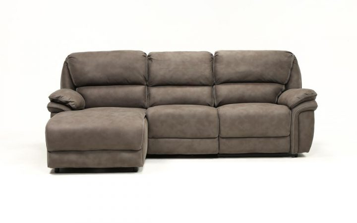 Norfolk Grey 3 Piece Sectionals With Laf Chaise