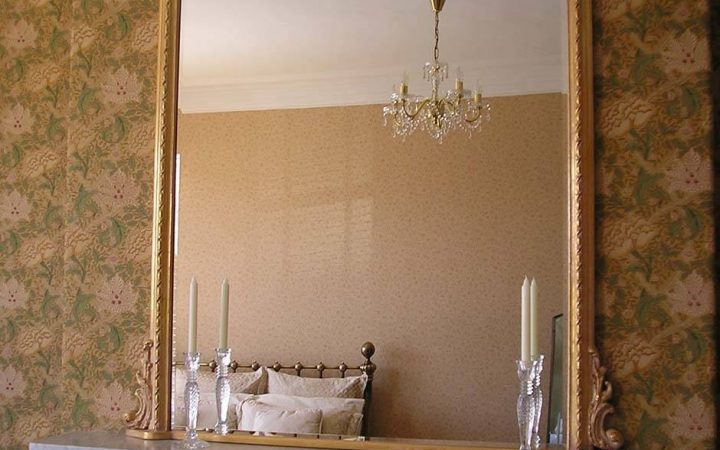 Gold French Mirrors