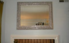 Glitter Frame Mirrors