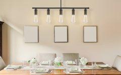 Novogratz Vintage 5-light Kitchen Island Bulb Pendants