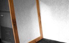 Large Oak Framed Mirrors