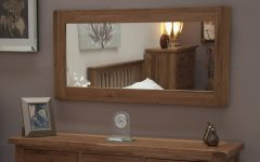 Rustic Oak Mirrors