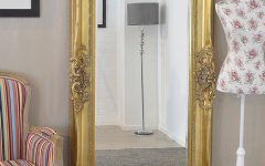 Long Antique Mirrors
