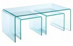 One Piece Glass Coffee Table Cheap