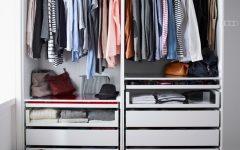 Double Rail Wardrobes Ikea