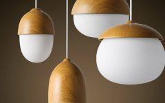 Nut Pendant Lights