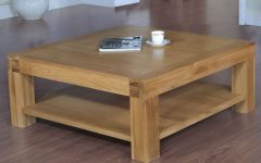 Oak Square Coffee Tables