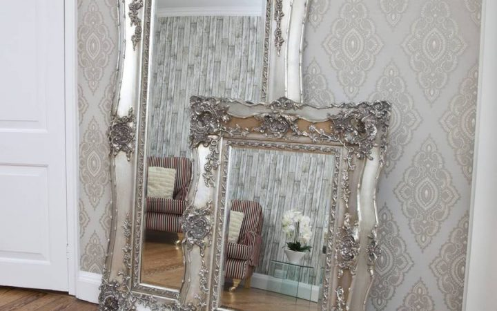 Large Silver Vintage Mirrors