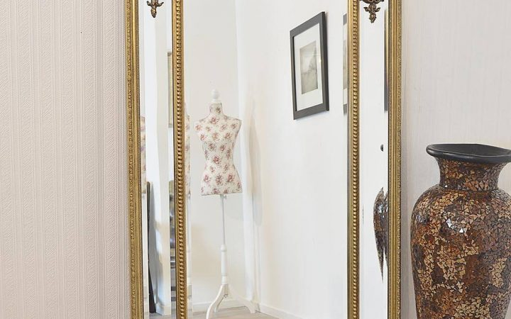 Large Gold Ornate Mirrors