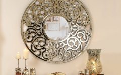 Ornate Round Mirrors