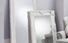 Large White Floor Mirrors