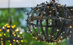 Outdoor Hanging Globe Lights