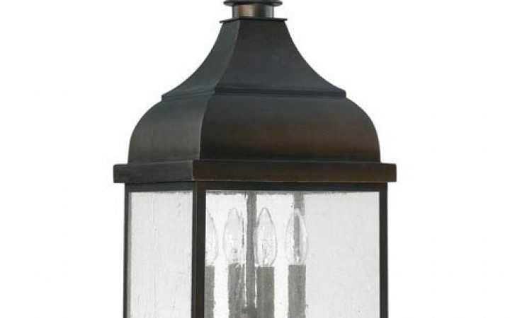 Outdoor Hanging Lanterns with Stand