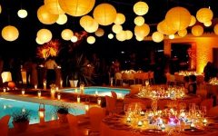 Outdoor Hanging Party Lanterns