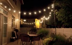 Solar Hanging Outdoor Patio Lights