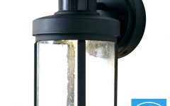 Lithonia Lighting Wall Mount Outdoor Bronze Led Floodlight with Motion Sensor