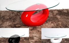 Red Gloss Coffee Tables