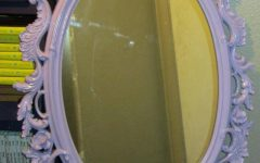 Oval Shabby Chic Mirrors