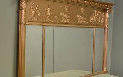 Vintage Overmantle Mirrors