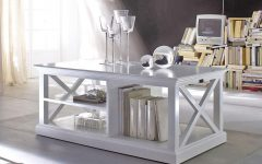 Retro White Coffee Tables