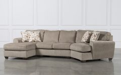 Sectional Sofas with Cuddler
