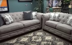 Ashley Furniture Gray Sofa