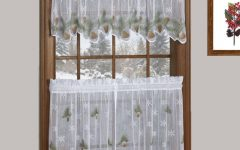 Tree Branch Valance and Tiers Sets