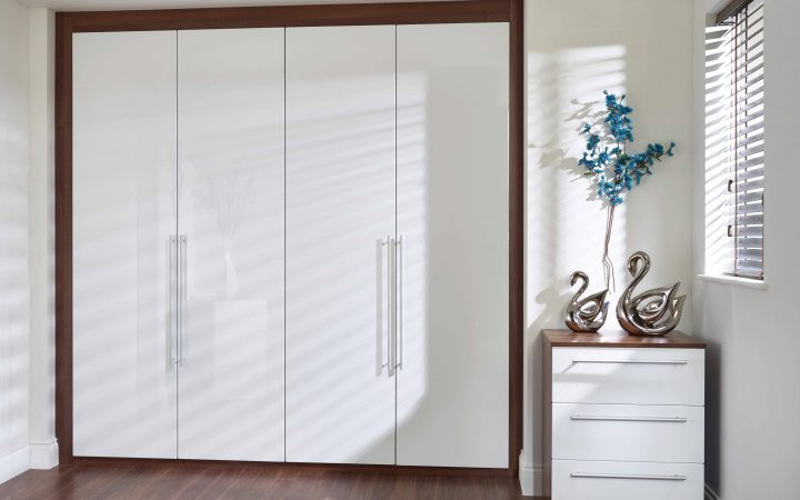 White High Gloss Wardrobes