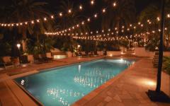 Outdoor Hanging Fairy Lights