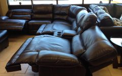 Sectional Sofas with Power Recliners