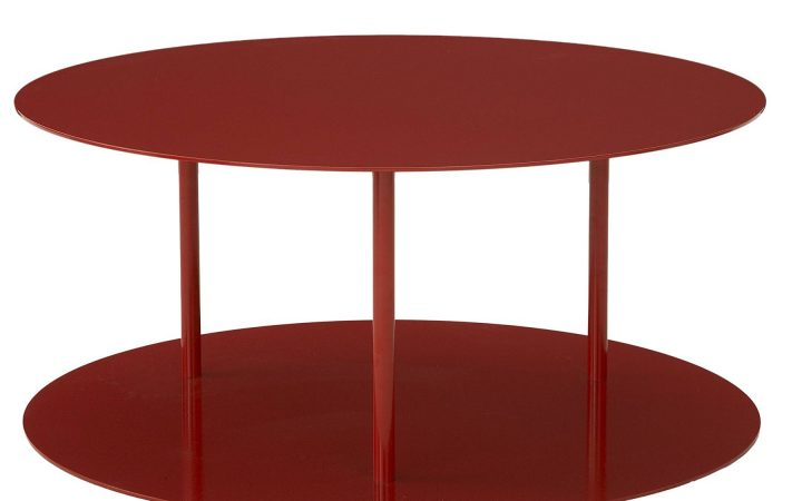 Round Red Coffee Tables