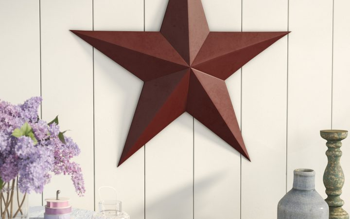 Raised Star Wall Decor