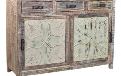Reclaimed Sideboards with Metal Panel