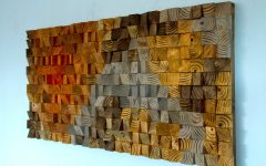 Wood Art Wall