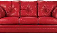 Red Leather Sofas