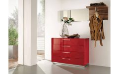 Red High Gloss Sideboards