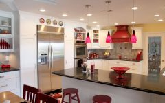Red Pendant Lights for Kitchen