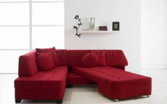 Red Sectional Sleeper Sofas