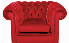 Red Chesterfield Chairs